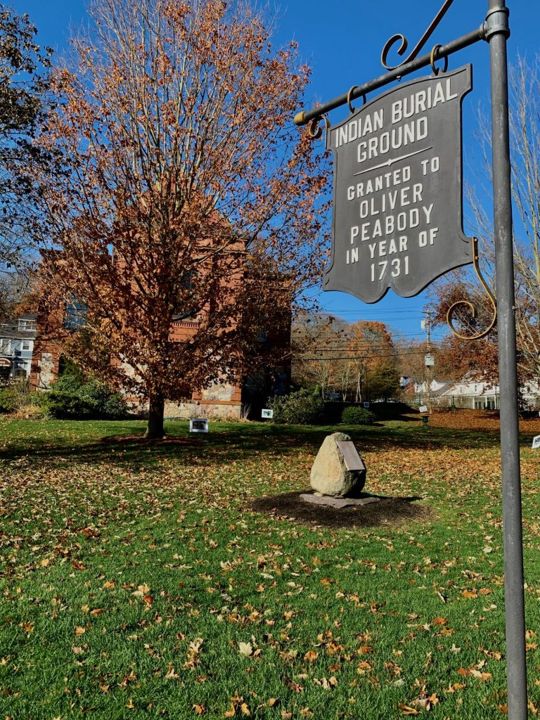 Indian Burial Ground, South Natick
