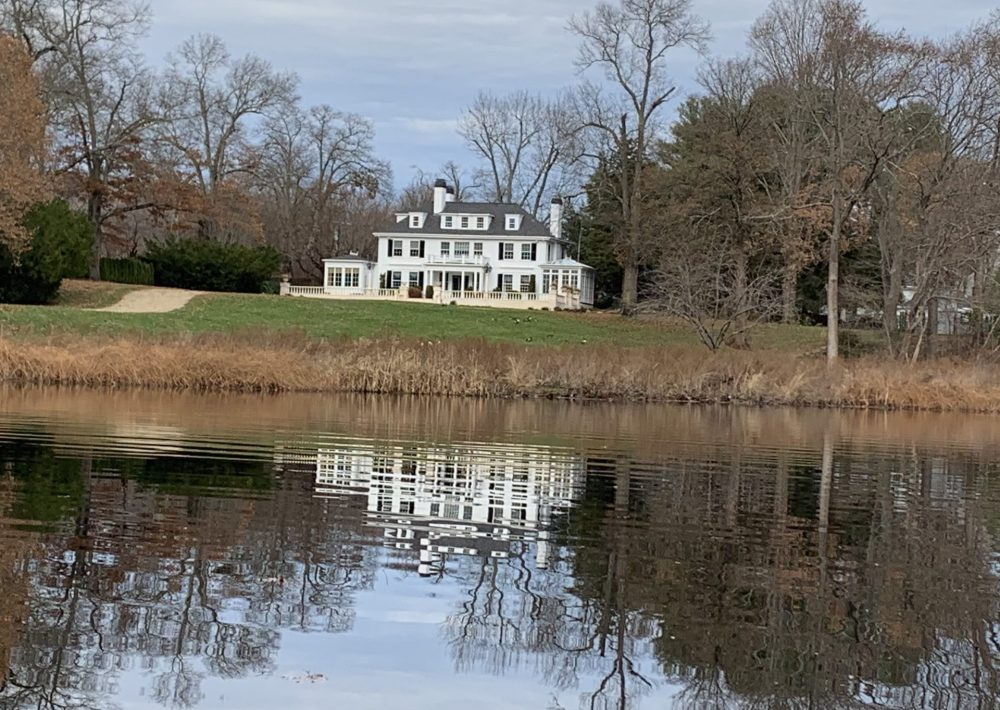 south natick mansion on charles river