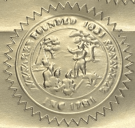 Natick town seal