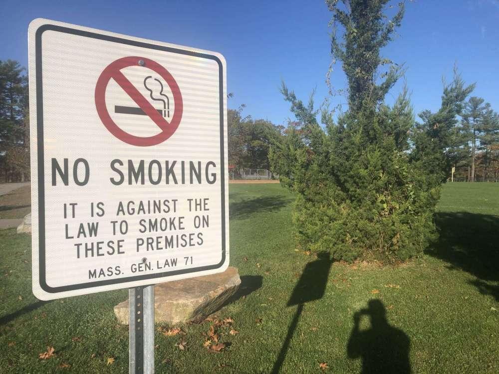 no smoking at natick high