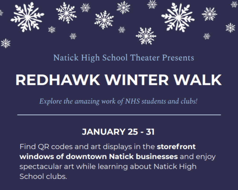 Natick Redhawk Winter Walk