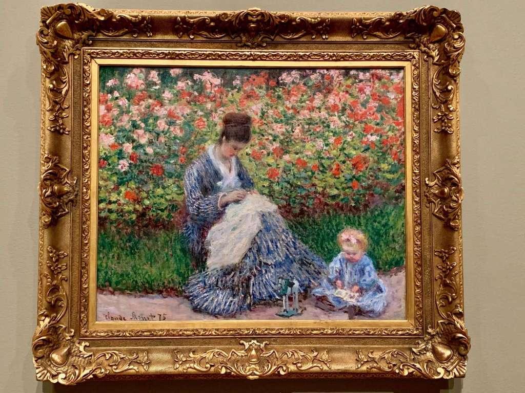 Monet exhibit, Museum of Fine Arts, Boston