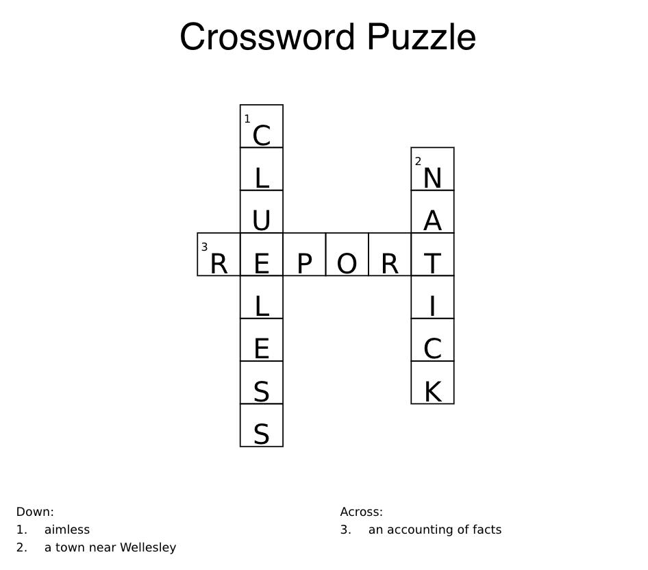 natick puzzle