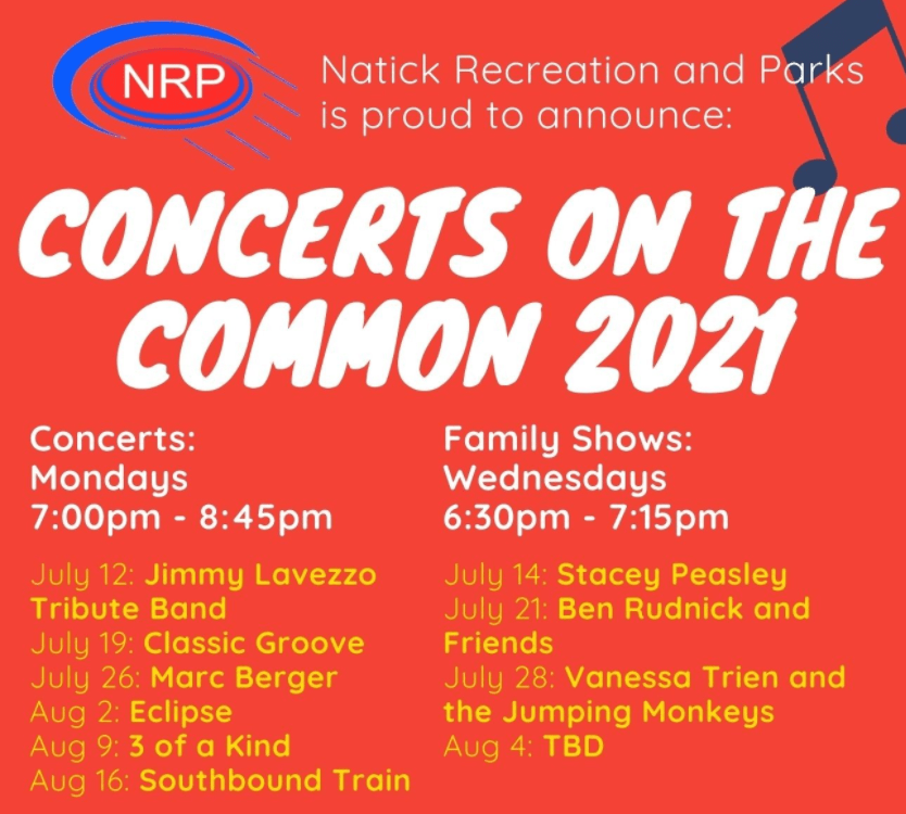 concerts on common