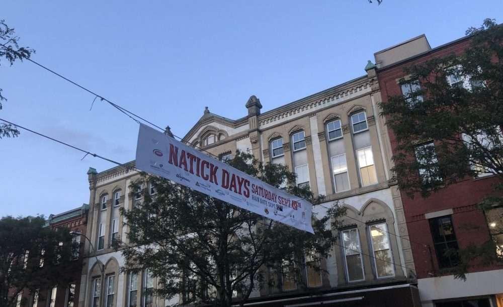 natick days banner