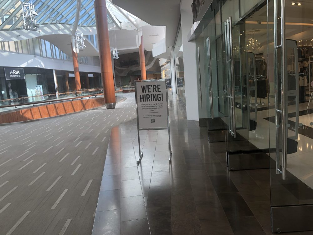 natick mall hiring