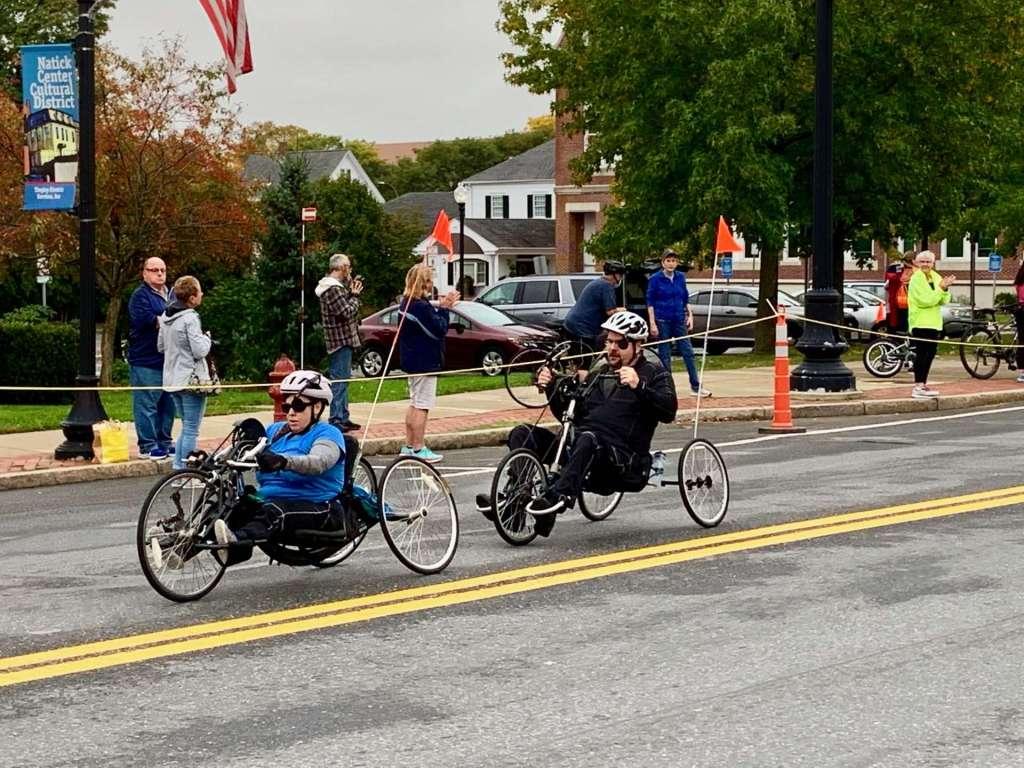Boston Marathon 2021, Natick