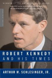 Book Jacket Robert Kennedy and his Times