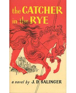 first edition cover of The Catcher in the Rye by J D Salinger