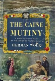 First edition cover of The Caine Mutiny by Herman Wouk