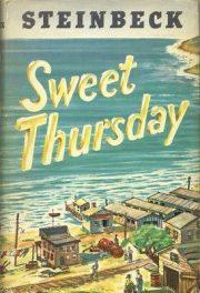 1955_Sweet Thursday by John Steinbeck book cover