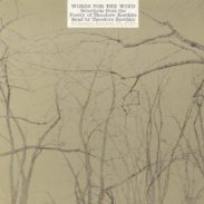 cover of Words for the Wind by Theodore Roethke