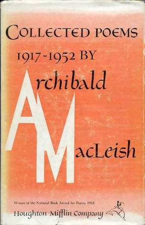 Cover Of Archibald MacLeishs Collected Poems 1917 1952