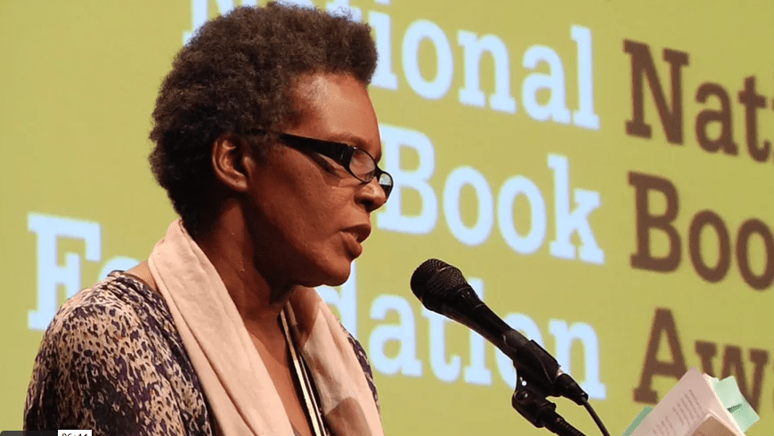 Claudia Rankine reads from Citizen at 2014 NBA Finalists Reading