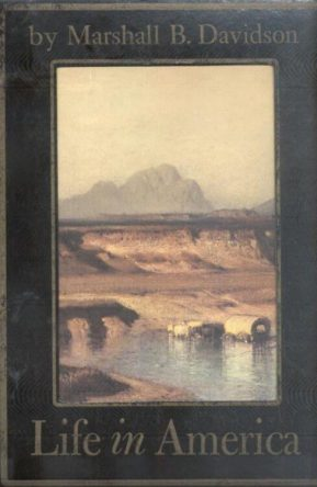 First Edition Cover of Life in America Volume 1 and 2 by Marshall B. Davidson