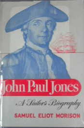 John Paul Jones by samuel eliot morison book cover