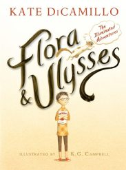 Kate DiCamillo, Flora & Ulysses book cover