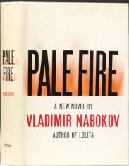 Pale Fire by Vladimir Nabokov book cover