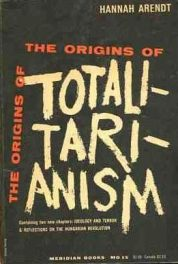 Paperback cover of The Origins of Totalitarianism by Hannah Arendt