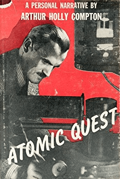 cover of Atomic Quest by Arthur Compton