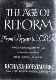 cover of The Age of Reform by Richard Hofstadter