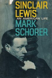 Sinclair Lewis by mark schorer book cover