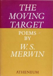 The Moving Target by W S Merwin book cover.