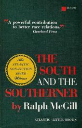 The South and the Southerner by Ralph Mcgill book cover
