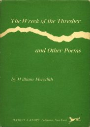 The Wreck of the Thresher by William Meredith book cover