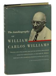 first edition cover of the autobiography of williams carlos williams