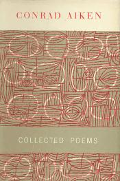 Conrad Aiken, Collected Poems book cover, 1954
