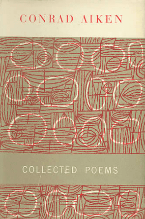 Conrad Aiken, Collected Poems book cover, 1954