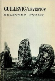 cover of Guillevic's Selected Poems translated by Denise Levertov