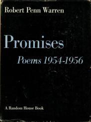 cover of Promises Poems 1954 1956 by Robert Penn Warren