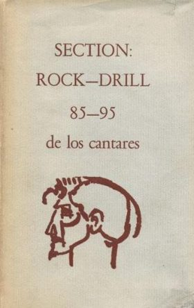 cover of Section Rock Drill by Ezra Pound