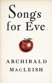 first edition cover of Songs for Eve by MacLeish