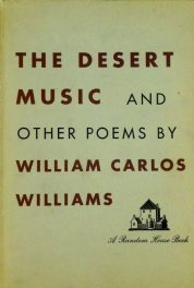 first edition cover of The Desert Music and other Poems by William Carlos Williams