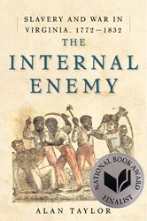 The Internal Enemy by Alan Taylor book cover
