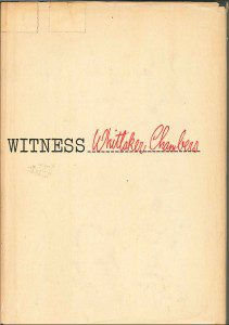 cover of Witness by Whittaker Chambers