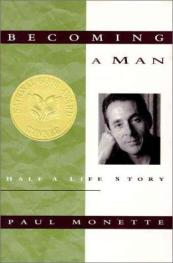 Becoming a Man- Half a Life Story by Paul Monette book cover