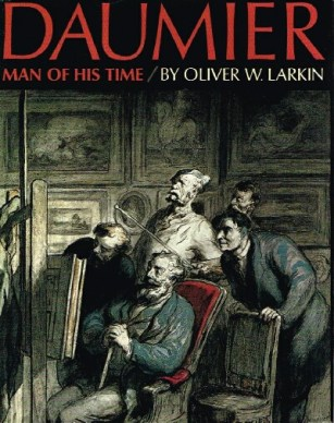 Daumier by oliver larkin book cover