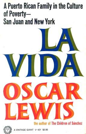 La Vida by oscar lewis book cover