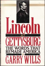Lincoln at Gettysburg by Gary Wills book cover