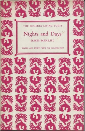 Nights and Days by James Merrill book cover