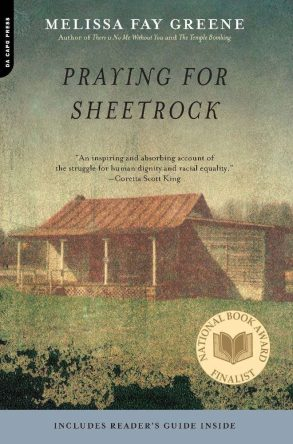 Praying for Sheetrock by Melissa Fay Greene book cover