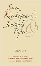 Soren Kierkegaard's Journals and Papers book cover