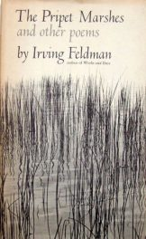 The Pripet Marshes by irving feldman cover