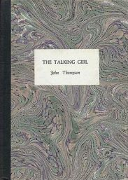 The Talking Girl by john thompson book cover