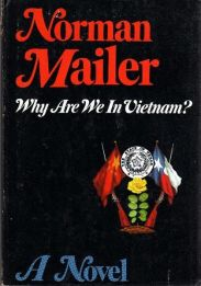 Why Are We in Vietnam by norman mailer book cover