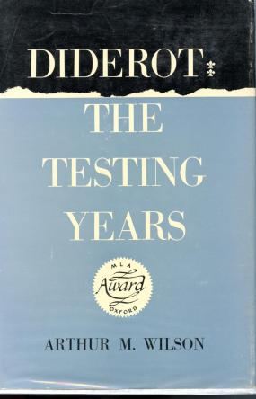 cover of Diderot by Arthur M Wilson